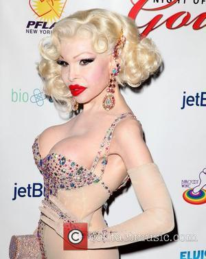 Amanda Lepore 26th Annual 'Night Of A Thousand Gowns' at The Marriott Marquis in Times Square New York City, USA...