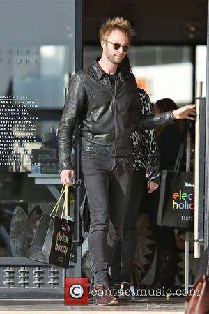 Paul McDonald leaves Barneys New York in Beverly Hills after some Christmas shopping. Los Angeles, California - 07.12.12