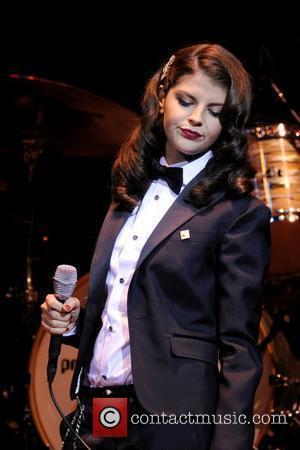 Nikki Yanofsky  performs on stage at The Massey Hall.  Toronto, Canada - 21.04.12
