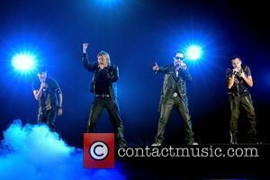 NKOTBSB - New Kids On The Block and The Back Street Boys perform at The O2  Dublin, Ireland -...
