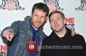 Simon Rix and Ricky Wislon of the Kaiser Chiefs NME Awards 2012 held at the O2 Academy Brixton - Arrivals....
