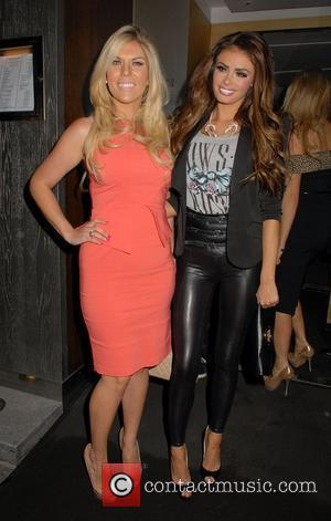 Frankie Essex and Chloe Sims  at Nobu Berkeley Restaurant. London, England - 15.05.12