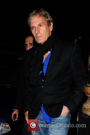 Michael Bolton outside Nobu restaurant London, England - 17.03.12