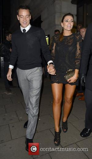 John Terry and his wife Toni leave Novikov restaurant in Mayfair London, England - 27.10.12