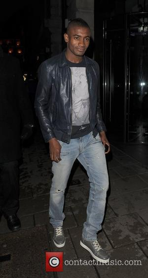 Chelsea FC player Salomon Kalou leaving Novikov restaurant. London, England - 05.05.12