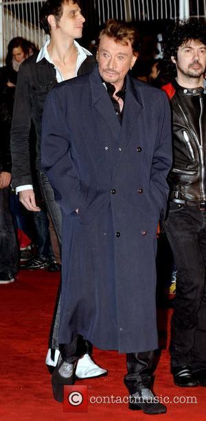 Johnny Hallyday NRJ Music Awards - Arrivals  Cannes, France - 28.01.12