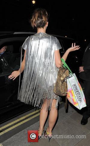 Margo Stilley NSPCC Pop Art Ball - Departures. London, England - 24.05.12