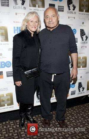 Glenn Close and Burt Young