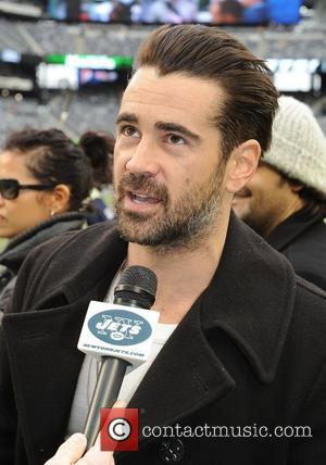 Colin Farrell  attending the New York Jets v Miami Dolphins NFL game at the Met Life Stadium East Rutherford,...