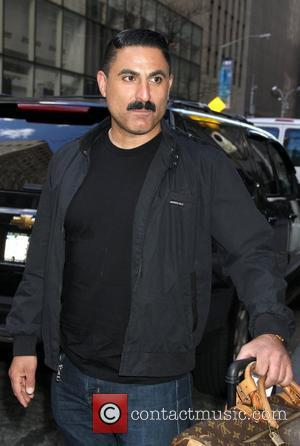 Reza Farahan Celebrities arrive at the studio to appear on, 'New York Live!' New York City, USA - 05.04.12