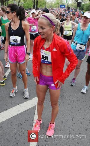 Jen Rhines 9th Annual More Magazine / Fitness Magazine Women's Half-Marathon at Central Park New York City, USA - 14.04.12