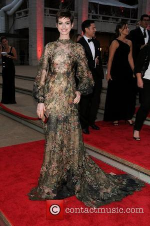 Revealed! Valentino Will Design Anne Hathaway's Wedding Dress