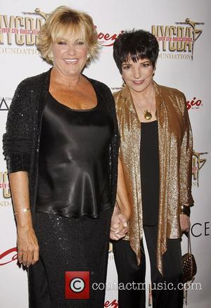Lorna Luft and her sister Liza Minnelli,  at the NYC Dance Alliance Foundation Gala held at New York University...