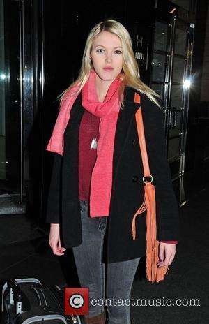 Ashley Campbell (daughter of country legend Glen Campbell) outside her Manhattan hotel New York City, USA - 07.01.12
