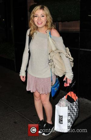 Jennette McCurdy  outside her Midtown hotel New York City, USA - 21.05.12