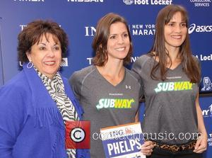 Debbie Phelps, Whitney Phelps, Hilary Phelps and Central Park