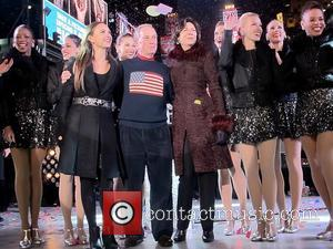 Georgina Bloomberg, New York City Mayor, Michael Bloomberg, Diana Taylor, The Rockettes and Times Square