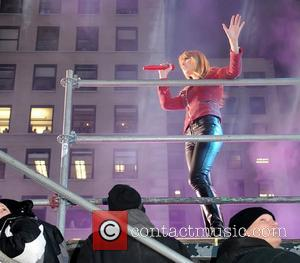 Taylor Swift and Times Square