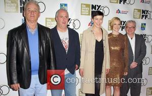Bill Murray, Roger Michell, Olivia Williams, Laura Linney and Richard Nelson
