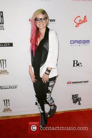 Avril Lavigne Mercedes-Benz New York Fashion Week Spring/Summer 2013 - Abbey Dawn - Arrivals  New York City, USA -...