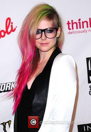 Avril Lavigne Mercedes-Benz New York Fashion Week Spring/Summer 2013 - Abbey Dawn - Arrivals  New York City, USA -...