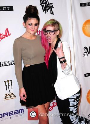 Kylie Jenner and Avril Lavigne Mercedes-Benz New York Fashion Week Spring/Summer 2013 - Abbey Dawn - Arrivals  New York...
