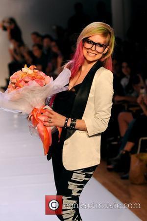 Avril Lavigne Mercedes-Benz New York Fashion Week Spring/Summer 2013 - Abbey Dawn - Runway New York City, USA - 10.09.12