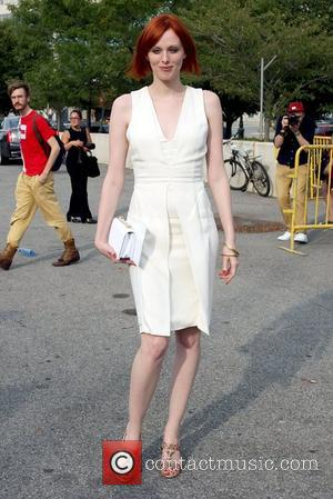 Karen Elson Mercedes-Benz New York Fashion Week Spring/Summer 2013 - Alexander Wang - Celebrity Sightings New York City, USA -...