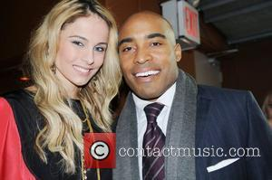 Tiki Barber and Lynn Johnson
