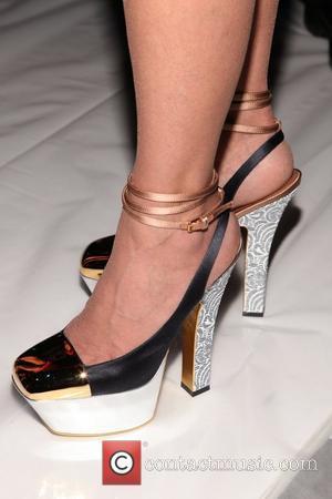 Paula Abdul Mercedes-Benz New York Fashion Week Spring/Summer 2013 - Carlos Miele - Front Row New York City, USA -...