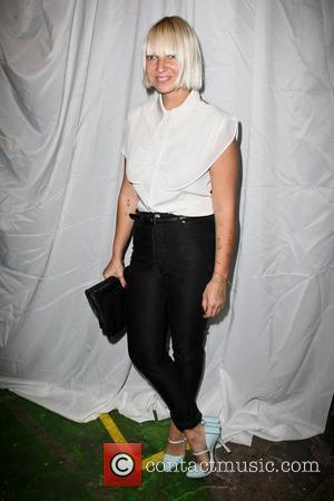 Sia Furler Mercedes-Benz New York Fashion Week Spring/Summer 2013 - Christian Siriano - Backstage New York City, USA - 08.09.12