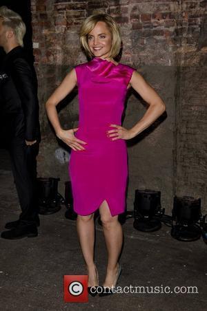 Mena Suvari Mercedes-Benz Fashion Week Fall 2012 - Christian Siriano - Backstage New York City, USA - 11.02.12