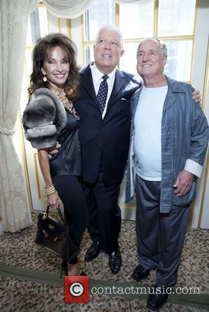 Susan Lucci, Dennis Basso, Neil Sedaka Mercedes-Benz New York Fashion Week Spring/Summer 2013- Dennis Basso Presentation at the St. Regis...
