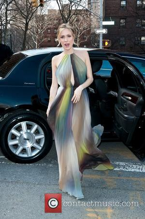 Kristin Cavallari Mercedes-Benz Fashion Week - Fall 2012 - Dennis Basso - Outside Arrivals New York City, USA - 14.02.12