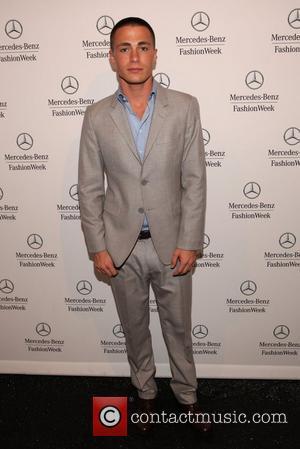 Colton Haynes Mercedes-Benz New York Fashion Week Spring/Summer 2013 - Diane von Furstenberg - Arrivals New York, NY - 09.09.12