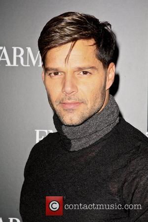 Ricky Martin Mercedes-Benz New York Fashion Week Spring/Summer 2013 – Emporio Armani - Party  New York City, USA –...