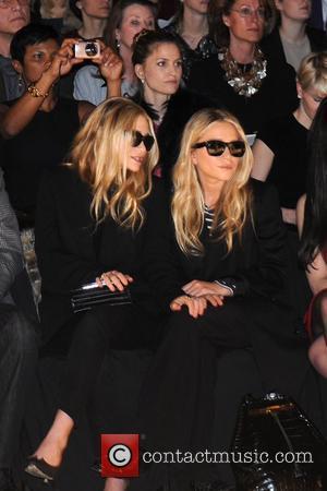 Mary-Kate Olsen, Ashley Olsen Mercedes-Benz Fashion Week - Fall 2012 - J. Mendel - Front Row  New York City,...