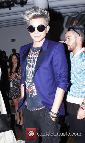 Adam Lambert Mercedes-Benz New York Fashion Week...