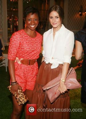 Montego Glover and Olivia Palermo Mercedes-Benz New York Fashion Week Spring/Summer 2013 - Kuning - Presentation New York City, USA...
