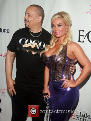 Ice-T and Coco Austin attending the 'Licious Apparel By Coco' Fashion Week Launch Party & Runway Show at XL Night...