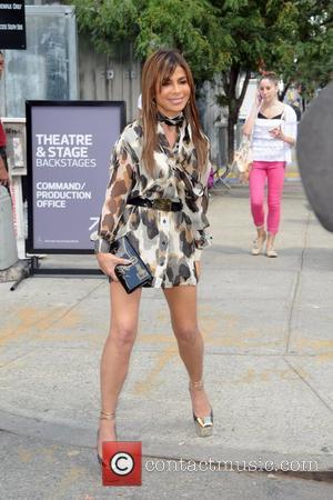 Paula Abdul Mercedes-Benz New York Fashion Week Spring/Summer 2013 - Celebrity Arrivals  New York City, USA - 10.09.12