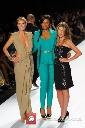 Heidi Klum, Jennifer Hudson, Nina Garcia and New York Fashion Week