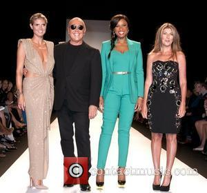 Heidi Klum, Jennifer Hudson, Michael Kors, Nina Garcia and New York Fashion Week