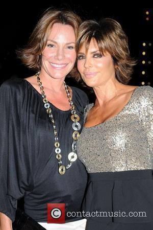Countess Luann De Lesseps and Lisa Rinna