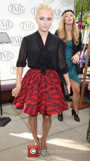 AnnaSophia Robb Mercedes-Benz New York Fashion Week Spring/Summer 2013 - The Daily Spa New York City, USA - 10.09.12