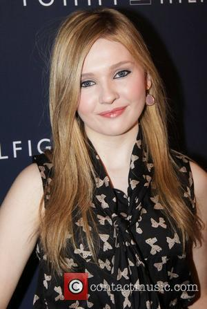 Abigail Breslin Mercedes-Benz Fashion Week - Fall 2012 - Tommy Hilfiger - Arrivals New York City, USA - 12.02.12