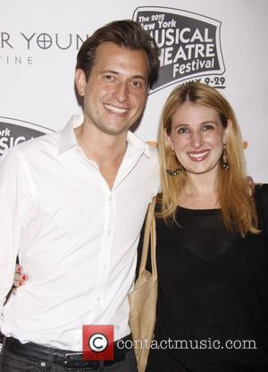Peter Cincotti and his sister Pia Cincotti The 2012 New York Musical Theatre Festival (NYMF) opening night Gala at Hudson...