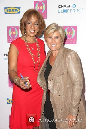 Gayle King and Suze Orman