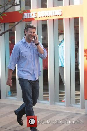 Slade Smiley The cast of 'The Real Housewives of Orange County' at The Grove to appear on 'Extra' Los Angeles,...