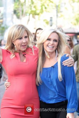 Vicki Gunvalson, Tamra Barney  The cast of 'The Real Housewives of Orange County' at The Grove to appear on...